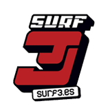 Logo surf old round
