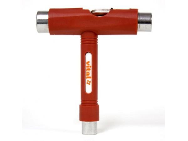 Llave herramienta para longboard Vital T Tool