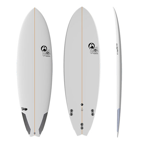 Tabla de surf Full and Cas Pand Fish