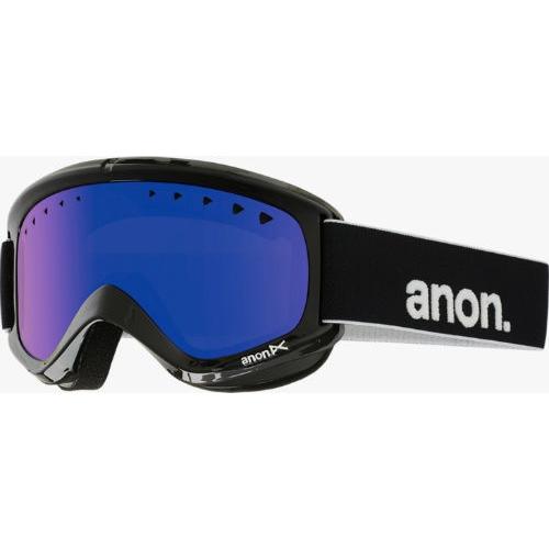 Máscara de snowboard Anon Helix Negro Blue 2016