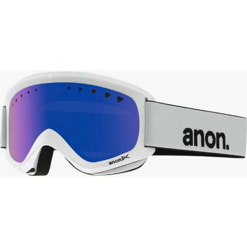 Máscara de snowboard Anon Helix White blue 2016