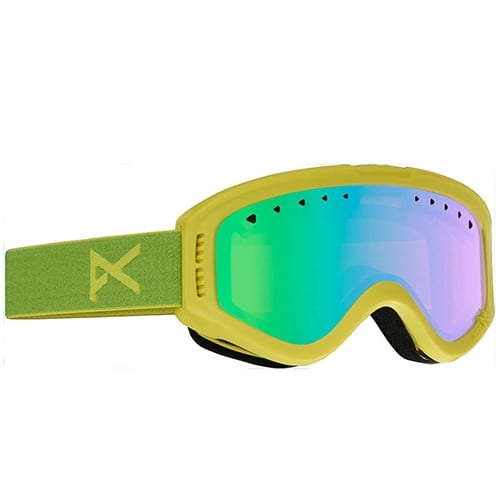 Gafas de snowboard Anon Tracker Ricky Green Amber
