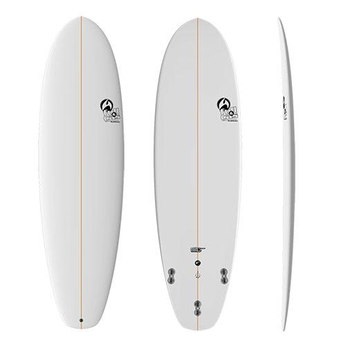Tabla de surf Full&Cas Combat