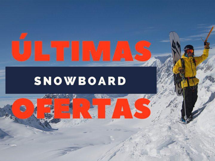 ¡Últimas ofertas de Snowboard!