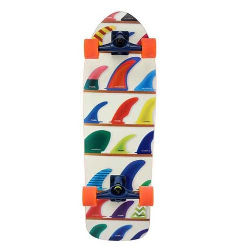 Surfskate completo Miller Wheels & Fins 32″