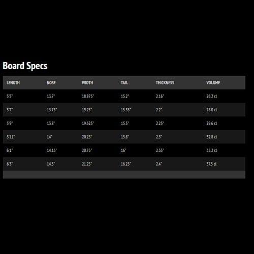 Tabla de surf Lib Tech Nude Bowl