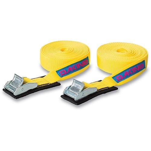 Cinchas Dakine Tie Down Straps amarillo