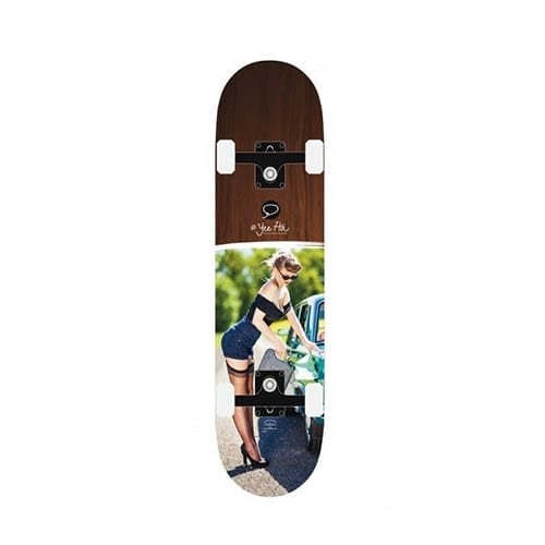 Skateboard completo Miller Gas Girl