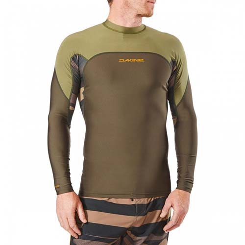 Licra Dakine Wrath Snug Fit ls verde