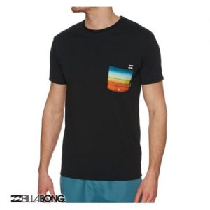 billabong team pocket negro