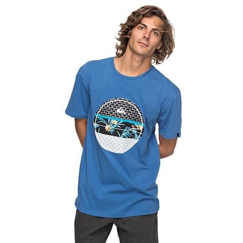 Camiseta Quiksilver Shddryreefs azul
