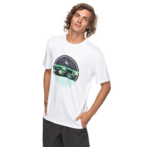 Camiseta Quiksilver Shddryreefs blanco