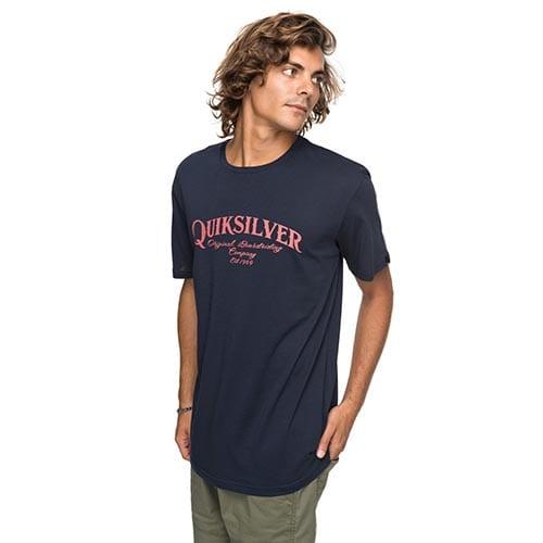 Camiseta Quiksilver Shdsupersturt azul