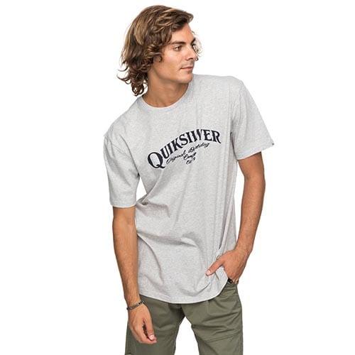 Camiseta Quiksilver Shdsuperstrut gris