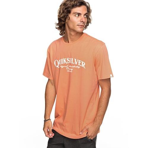 Camiseta Quiksilver Shdsuperstrut naranja