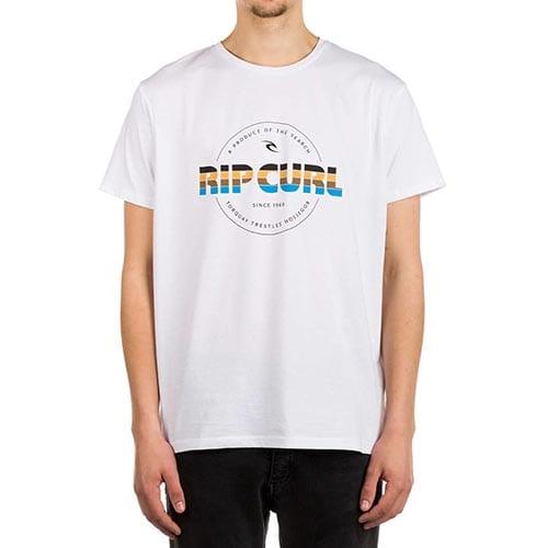 Camiseta Rip Curl Bigmama Circle blanco