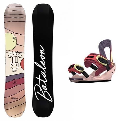 pack de snowboard bataleon spirit