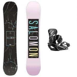 pack de snowboard salomon oh yeah