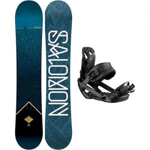 pack de snowboard salomon sight 19