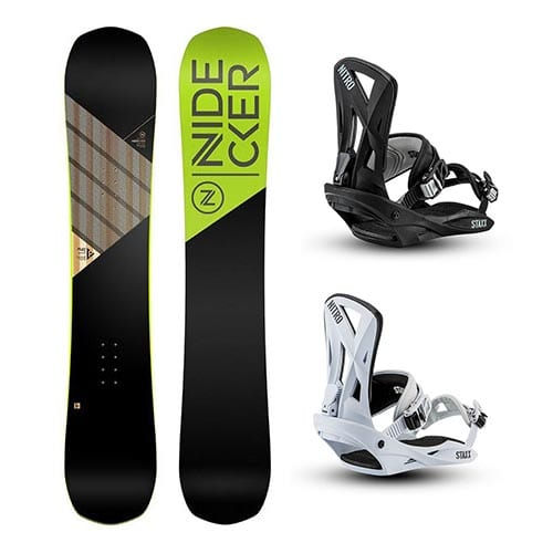 Pack de snowboard Nidecker Play