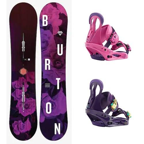 Pack de snowboard Burton Stylus 2019