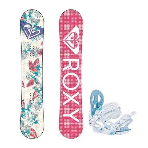 Pack de snowboard para mujer Roxy Glow