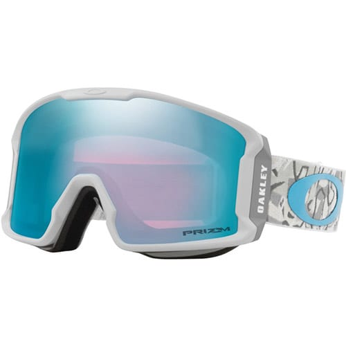 Gafas de snowboard Oakley Line Miner Camo Vine Sapphire