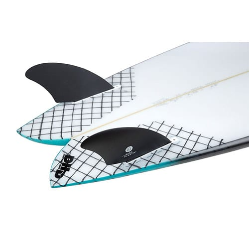 Quillas de surf Twin Fin Radz Hawaii Modern Keel