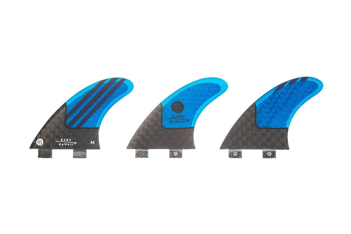 Quillas de surf FCS Radz Hawaii Pipe Pro M