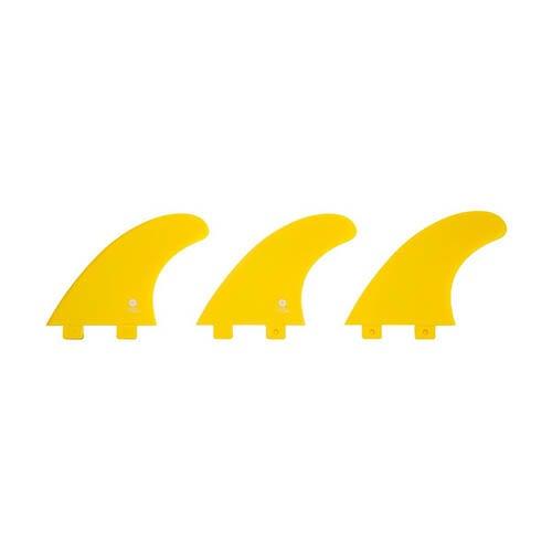Quillas de surf FCS Radz Hawaii Nylon Yellow