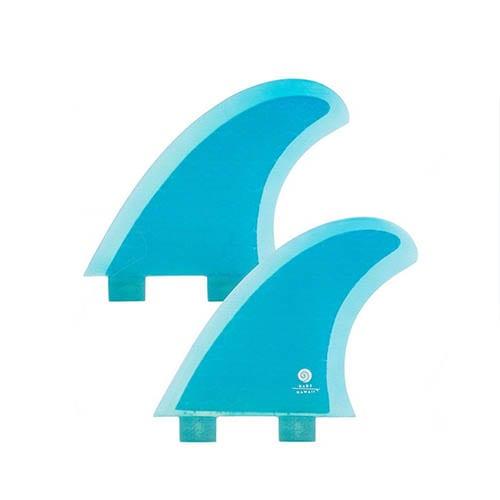 Quillas de surf FCS Radz Hawaii Quad Rear L Blue
