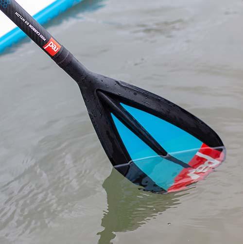 Remo de paddle surf Red Carbon 50 Nylon 3 piezas Cam Lock