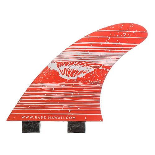Quillas de surf FCS Radz Hawaii Sunset L
