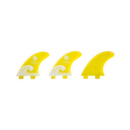 Quillas de surf FCS Radz Hawaii S Yellow