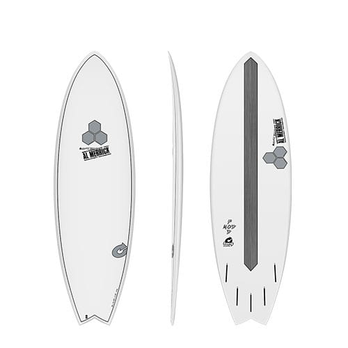 Tabla de surf Torq Channel Islands Pod Mod White