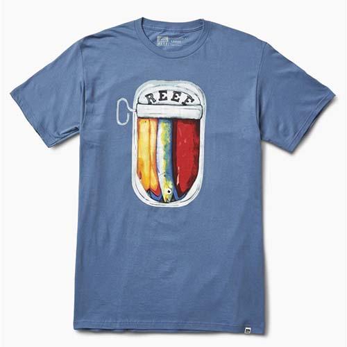 Camiseta Reef Fish Azul