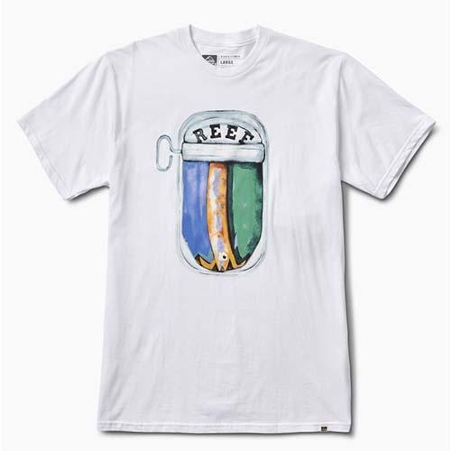 Camiseta Reef Fish Blanco
