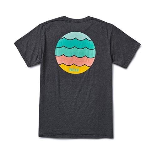 Camiseta Reef Waters Char Heat