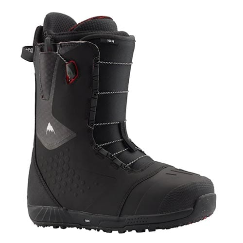 Botas de snowboard Burton Ion Black red 2020