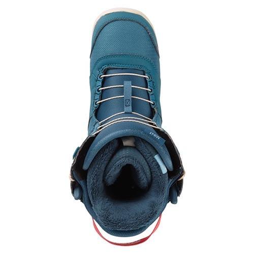 Bota de snowboard Mujer Burton Mint Boa Storm Blue 2020