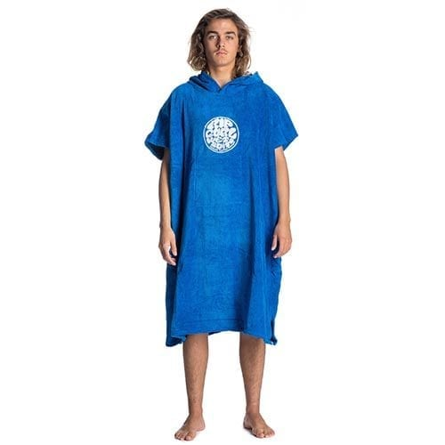 rip curl poncho nautical blue
