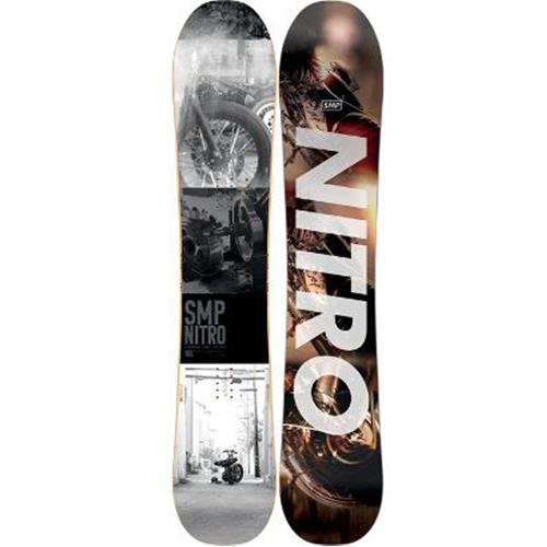 Pack de snowboard Nitro SMP Staxx 2020