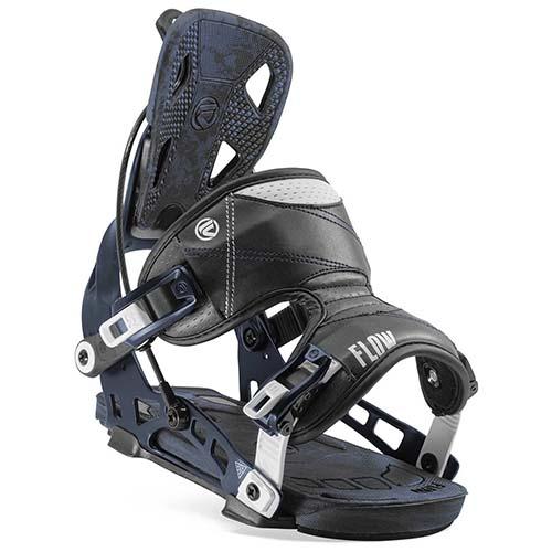 Fijación de snowboard Flow NX2 midnight 2020