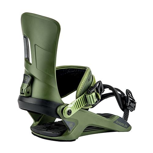 Fijaciones de snowboard Nitro Rambler Olive 2020