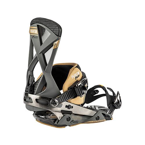 Fijaciones de snowboard Nitro Phantom Carver Gunmetal 2020