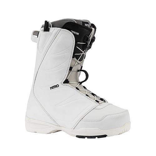 Botas de snowboard Nitro Flora TLS White 2020