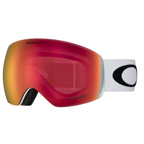 Gafas de snowboard Oakley Flight Deck blanco Torch