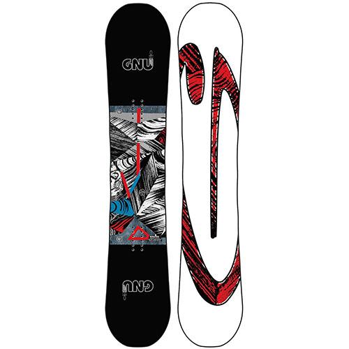 Tabla de snowboard GNU Carbon Credit BTX 2020