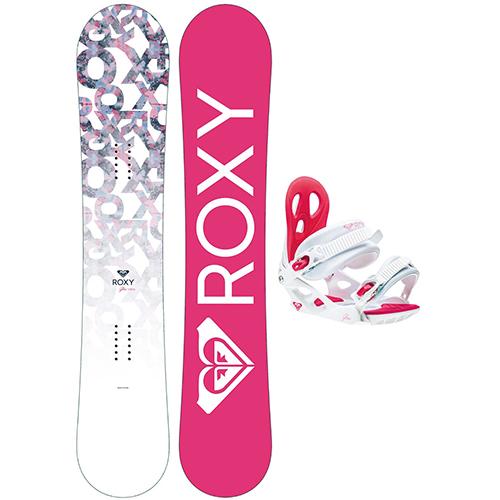 Pack de snowboard Roxy Glow 2021