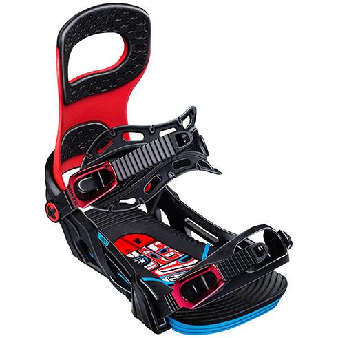 Fijaciones de snowboard Bent Metal Joint Red 2020